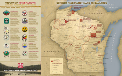 Map | Wisconsin First Nations